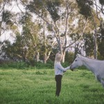 Woman and horse: How to build rapport with new pets